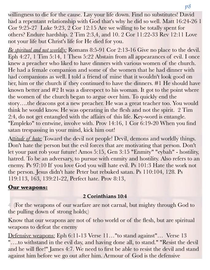 Spiritual Warfare NBBI 9